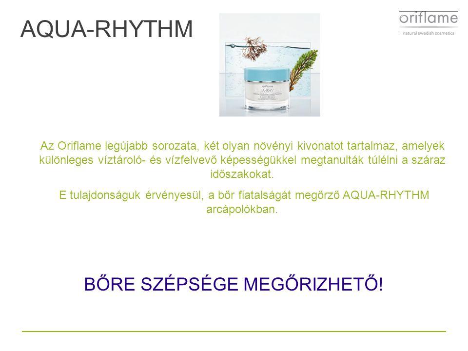 Az Oriflame legújabb sorozata, két olyan növényi kivonatot tartalmaz, amelyek különleges víztároló- és vízfelvevő képességükkel megtanulták túlélni a
