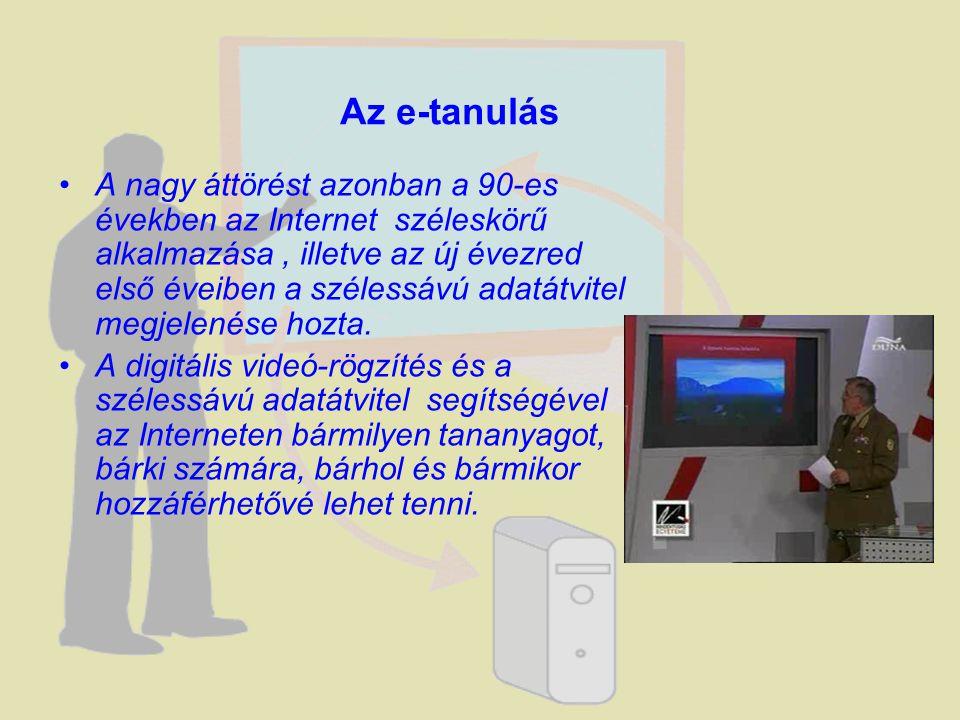 A nagy áttörést azonban a 90-es években az Internet széleskörű alkalmazása, illetve az új évezred első éveiben a szélessávú adatátvitel megjelenése ho