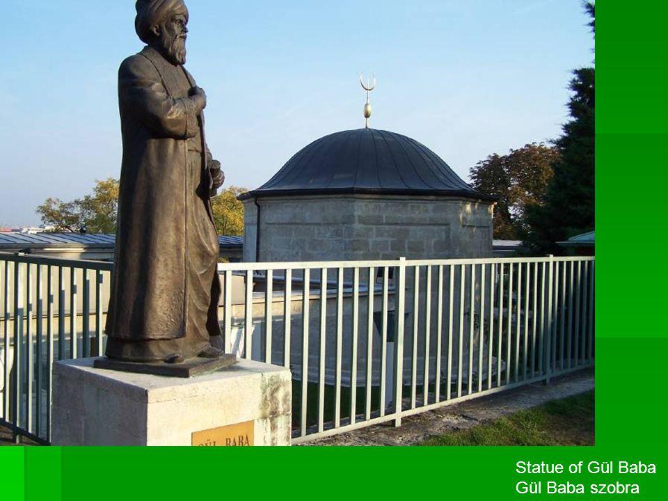 Statue of Gül Baba Gül Baba szobra
