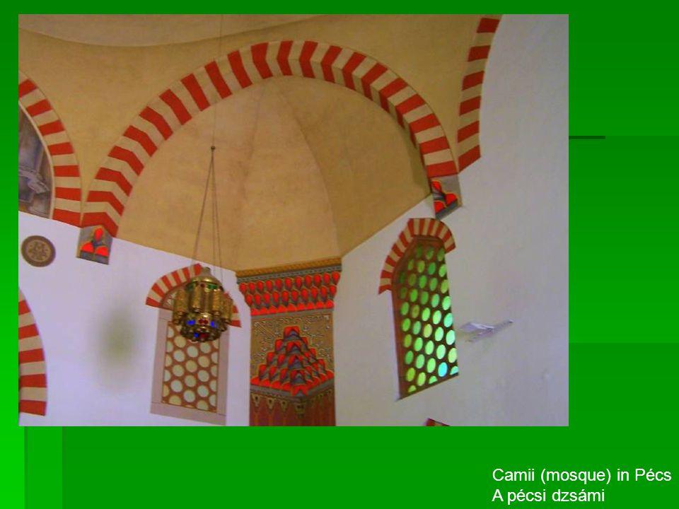 Camii (mosque) in Pécs A pécsi dzsámi