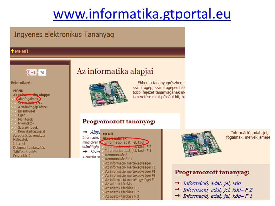 www.informatika.gtportal.eu