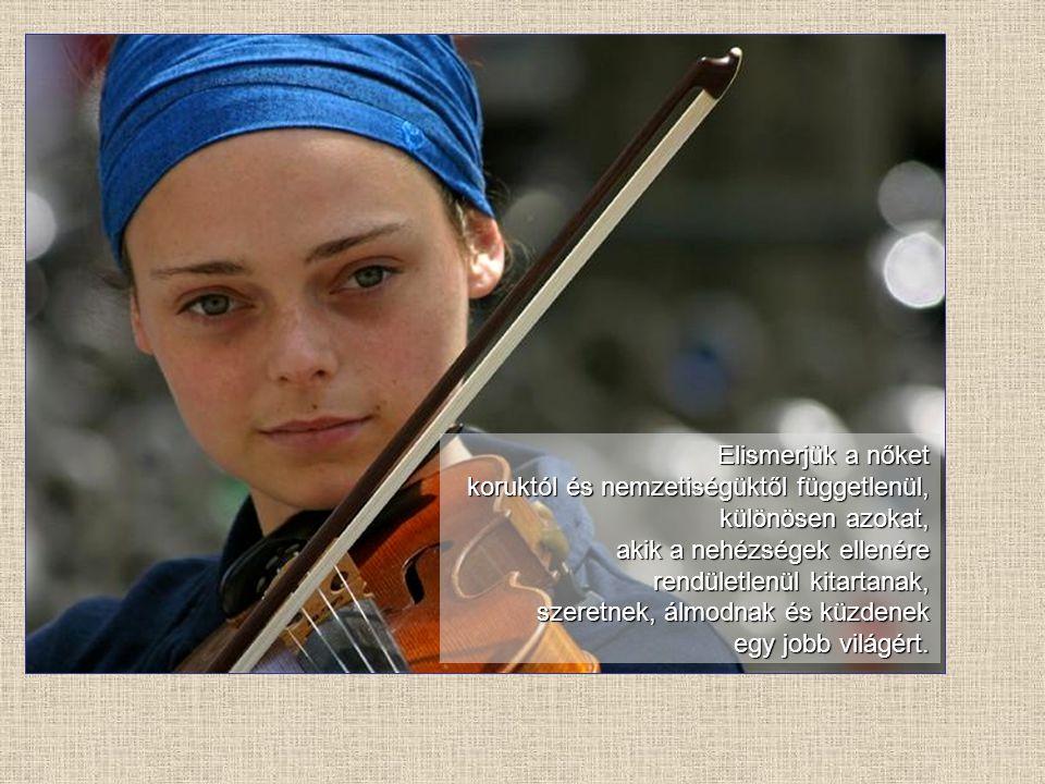 Nőnek lenni A zene: Vangélisz: Glorianna (Himnusz a nőkről)