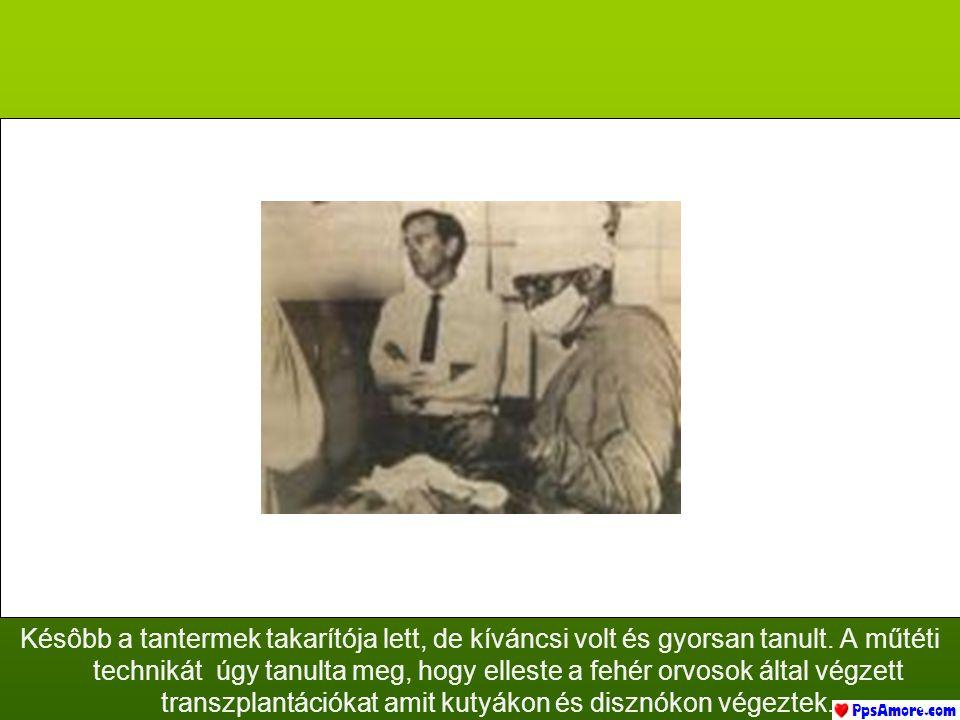 Naki sebészeti sapkát és a maszkot viselt, de soha nem végzett orvosi vagy sebészneti egyetemet.