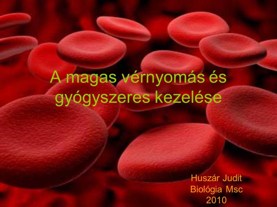 A magas vérnyomás és gyógyszeres kezelése Huszár Judit Biológia Msc 2010