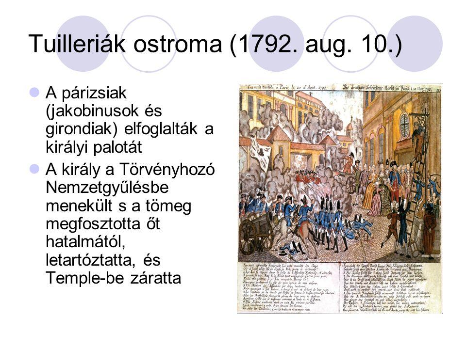 Tuilleriák ostroma (1792.aug.