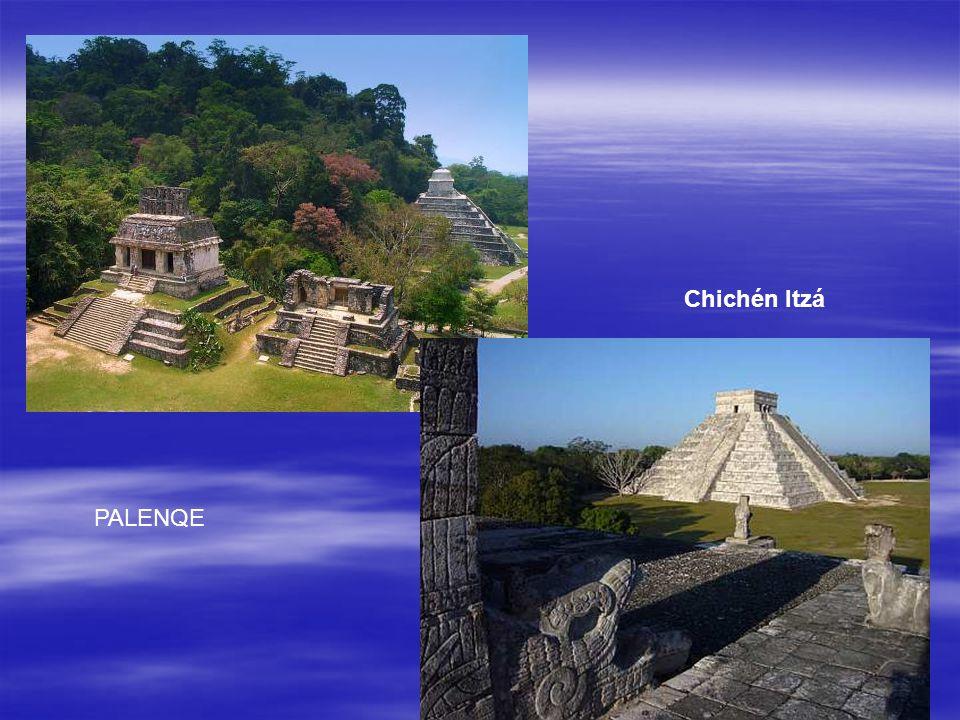PALENQE Chichén Itzá