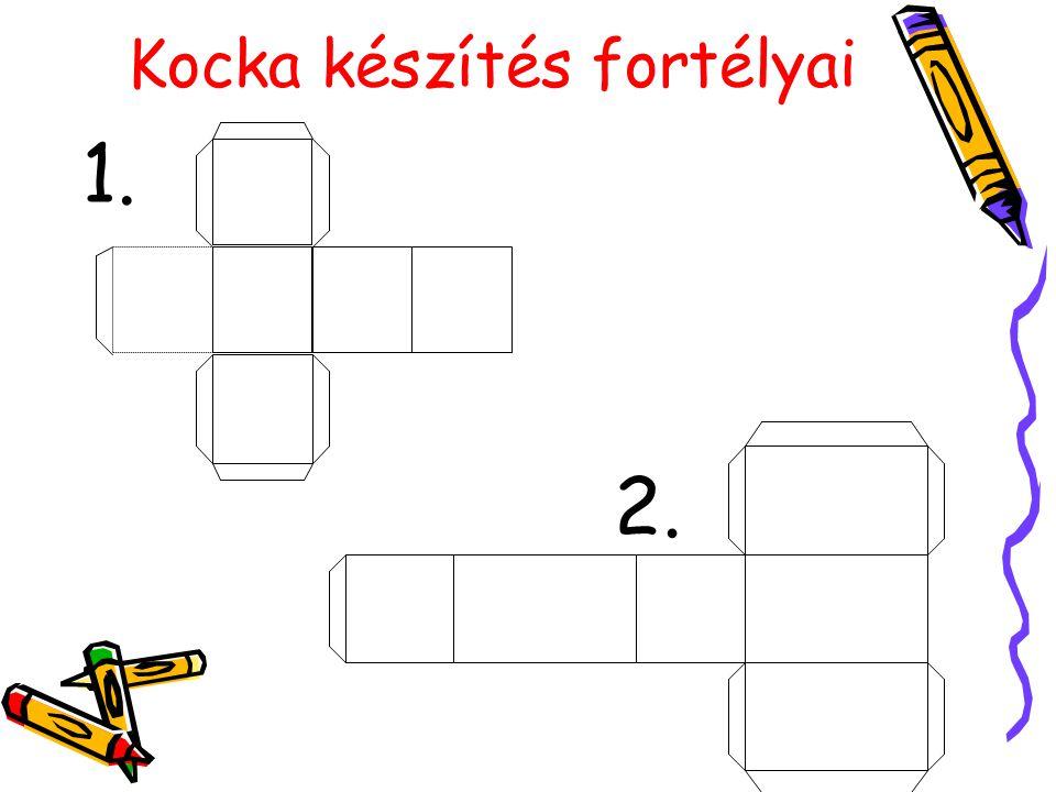 AB CD A'B' C' D' Felt: ABCDA'B'C'D'- kocka AB= 4cm Követ: D'B=.
