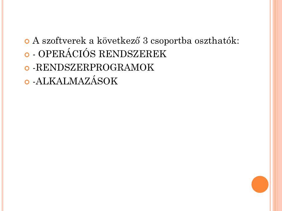 T ÁBLÁZATKEZELŐ : OpenOffice v3.30