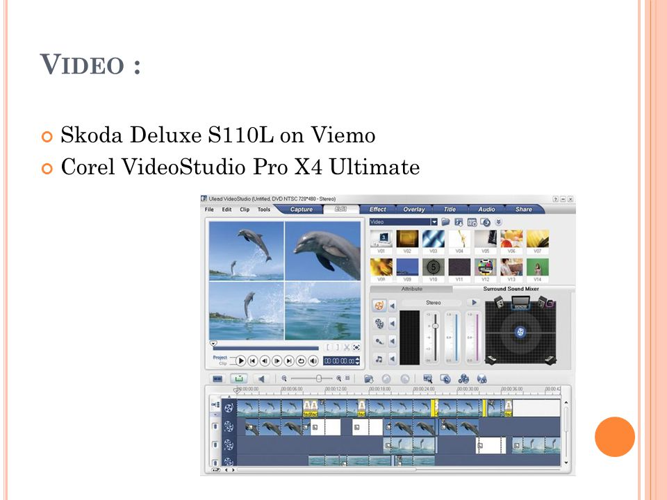 V IDEO : Skoda Deluxe S110L on Viemo Corel VideoStudio Pro X4 Ultimate