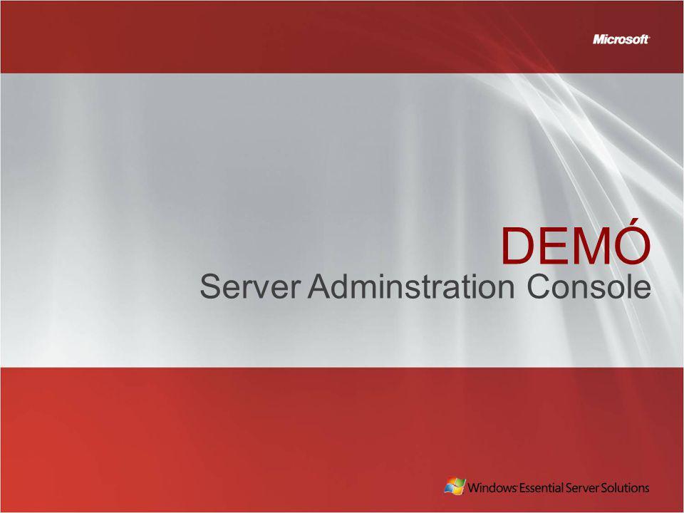 DEMÓ Server Adminstration Console