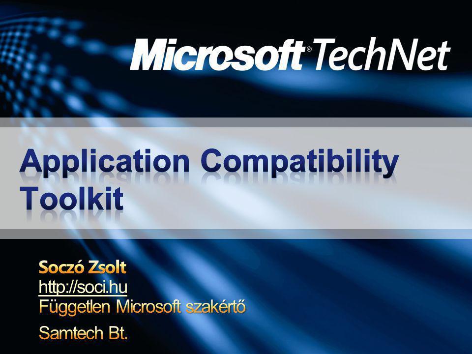 Eszközök, amelyekkel alkalmazások és számítógépek kompatibilitási kérdései vizsgálhatók meg új Windows verzióra átállás előtt Rengeteg foltozást is képes bekapcsolni a nem kompatibilis alkalmazások megjavítására Előzetes szoftverleltárt és készít, ha nem tudjuk mik futnak a gépeken