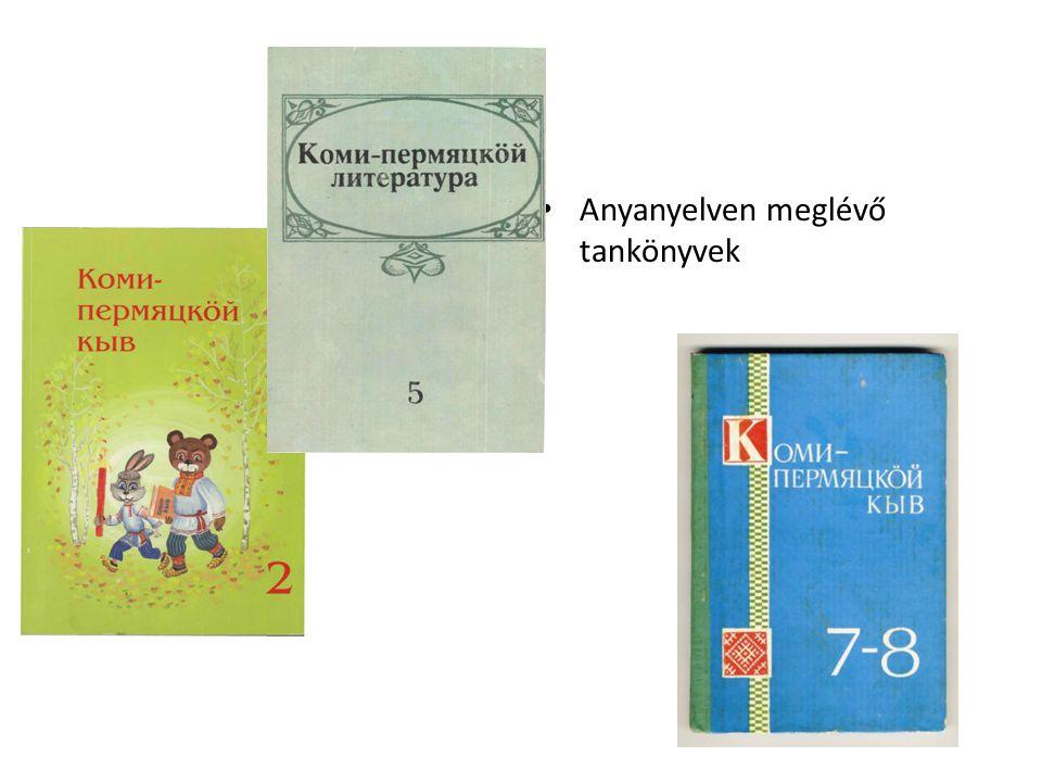 Anyanyelven meglévő tankönyvek