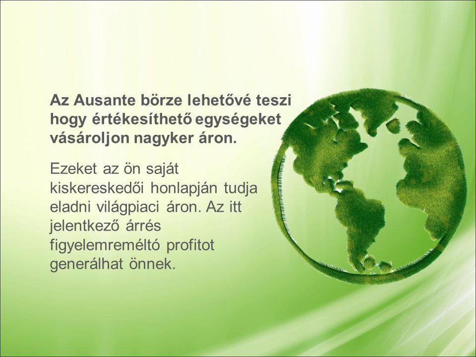 Kulcs erősségei az Ausante jutalmazási rendszerének