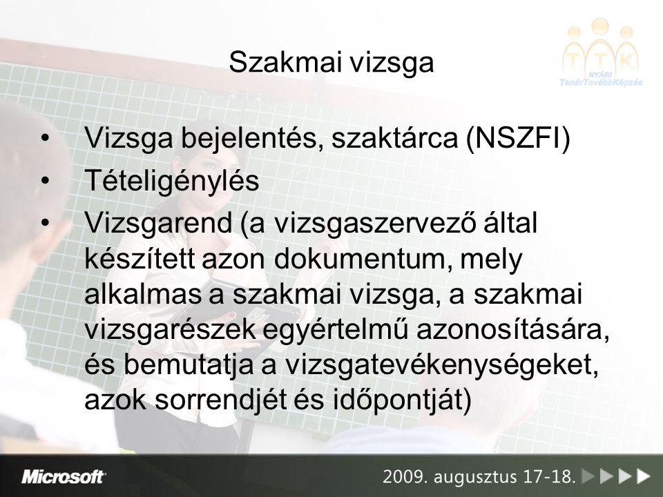 MAGISZ 2009.Statisztika: –Vizsganapok száma G.gy.t.t.