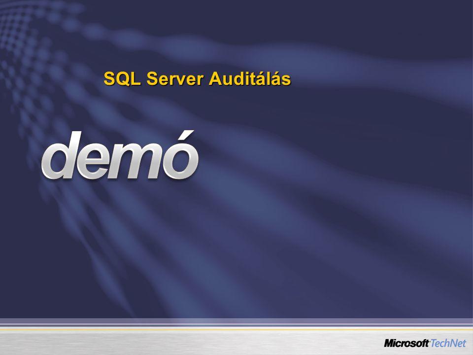 SQL Server Auditálás