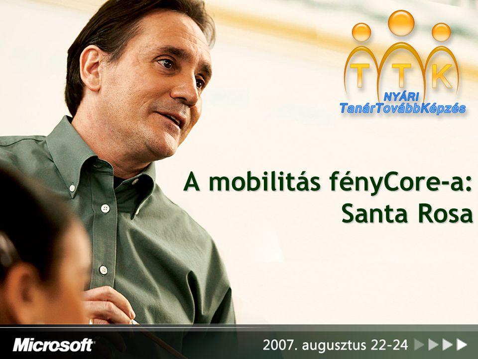 A mobilitás fényCore-a: Santa Rosa