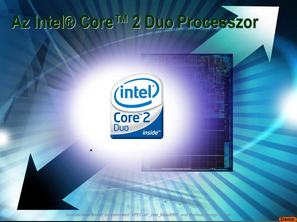 7 Intel ® Core ™ mikroarchitektúra mobil mikroarchitektúra Intel® NetBurst® + új fejlesztések