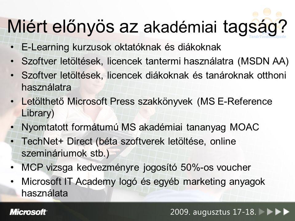 Az e-learning környezet használata: belépés az access code segítségével