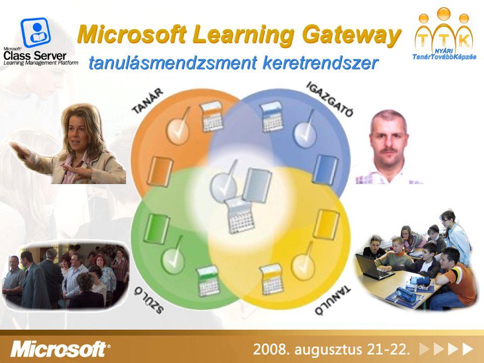 Microsoft Learning Gateway tanulásmendzsment keretrendszer
