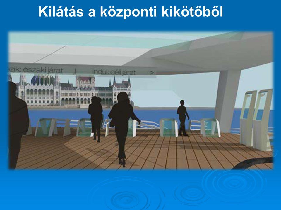 Kilátás a központi kikötőből