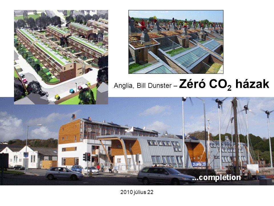 2010 július 22 Anglia, Bill Dunster – Zéró CO 2 házak