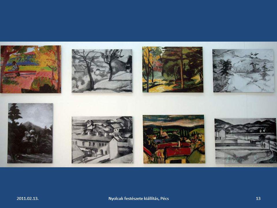 2011.02.13.Nyolcak festészete kiállítás, Pécs12