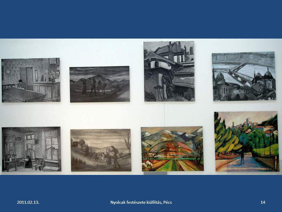 2011.02.13.Nyolcak festészete kiállítás, Pécs13
