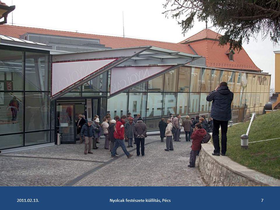 2011.02.13.Nyolcak festészete kiállítás, Pécs6