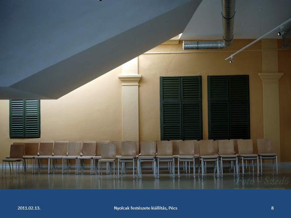 2011.02.13.Nyolcak festészete kiállítás, Pécs7