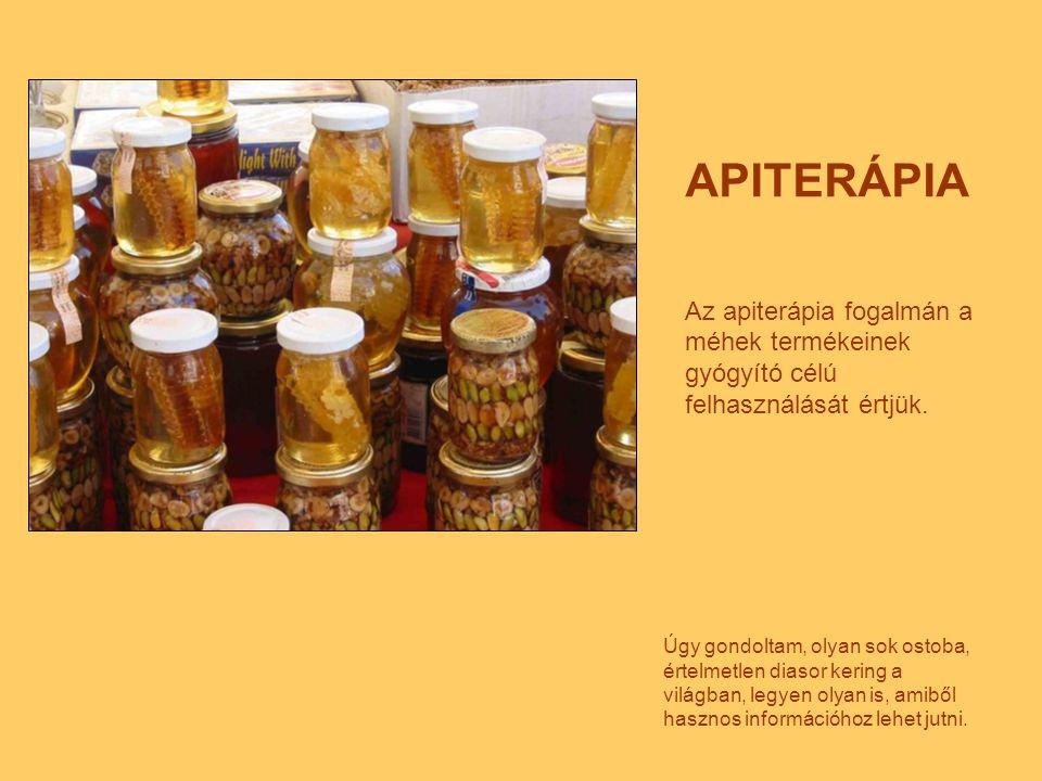 Bármely mézet használnak gyógyításra, az tartalmazza a növény gyógyhatású anyagait is.
