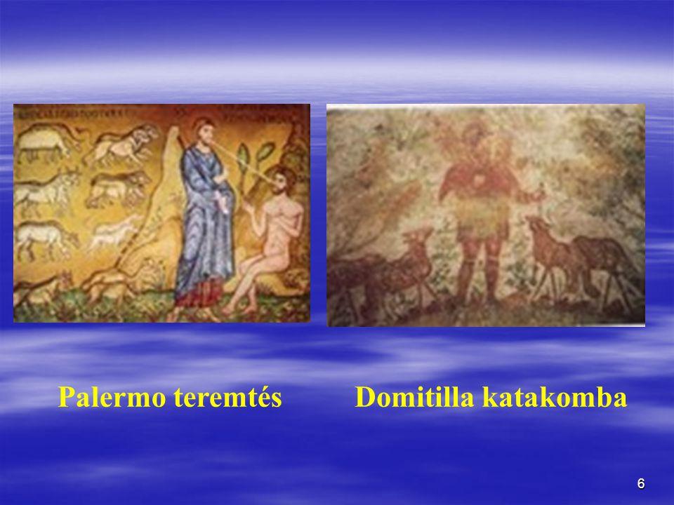 6 Palermo teremtésDomitilla katakomba