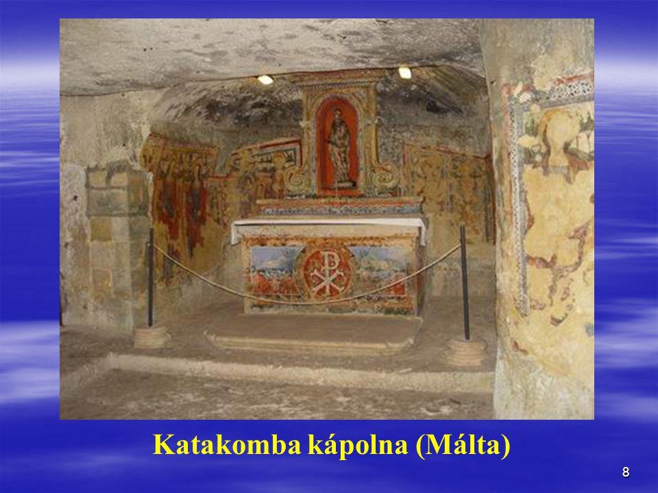 8 Katakomba kápolna (Málta)
