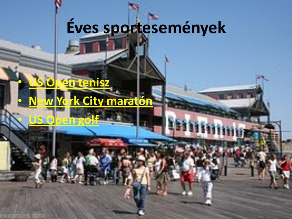 Éves sportesemények US Open tenisz New York City maratón US Open golf