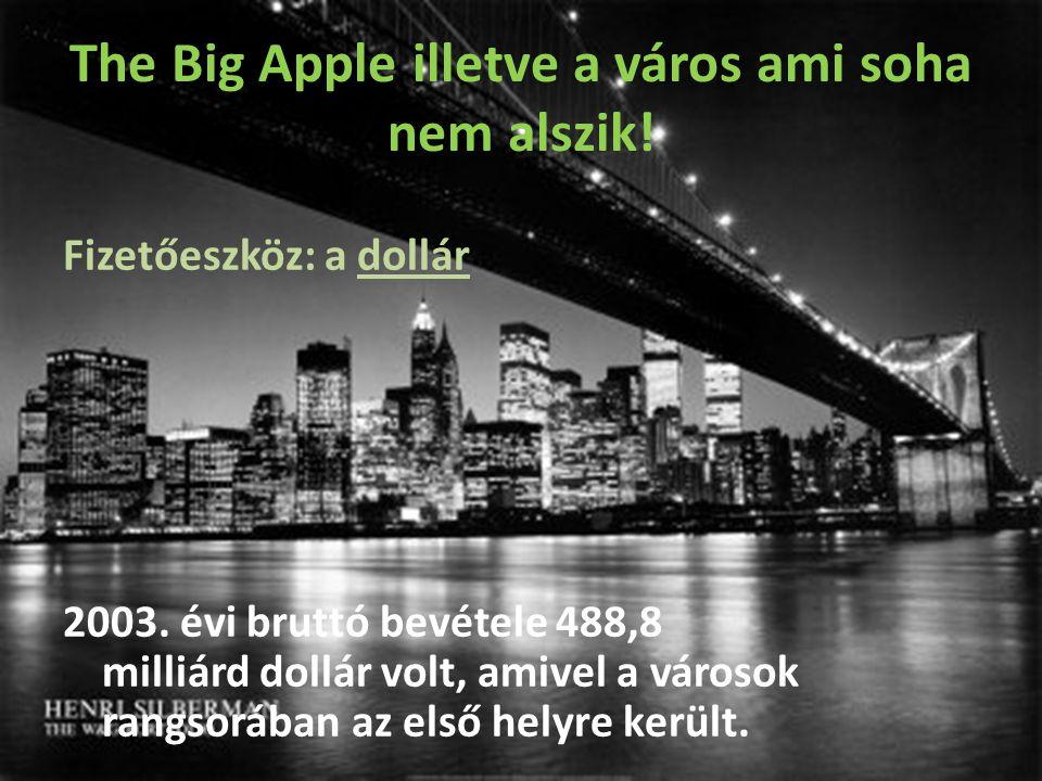 The Big Apple illetve a város ami soha nem alszik.