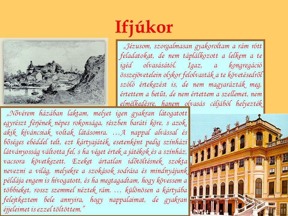 Házasság és nászút Bécsben felajánlották az ifjú Rákóczinak Sarolta Amália, hesseni hercegnő kezét.