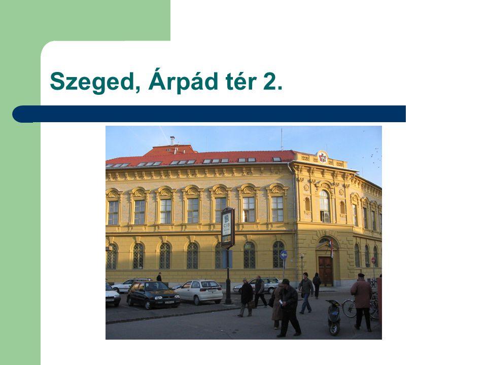 Szeged, Árpád tér 2.