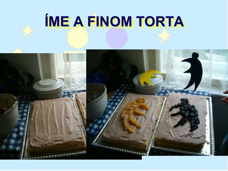 ÍME A FINOM TORTA
