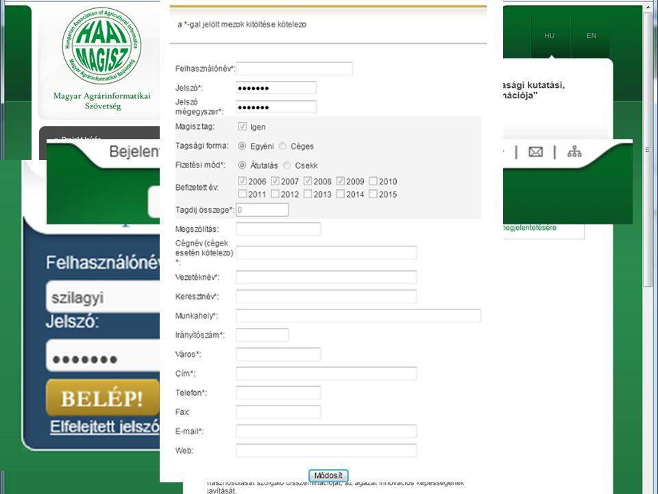 Áttekintett portálok http://www.efita.net http://www.aki.gov.hu http://www.mgszh.gov.hu http://www.mvh.gov.hu MAGISZ – 2011.04.28.