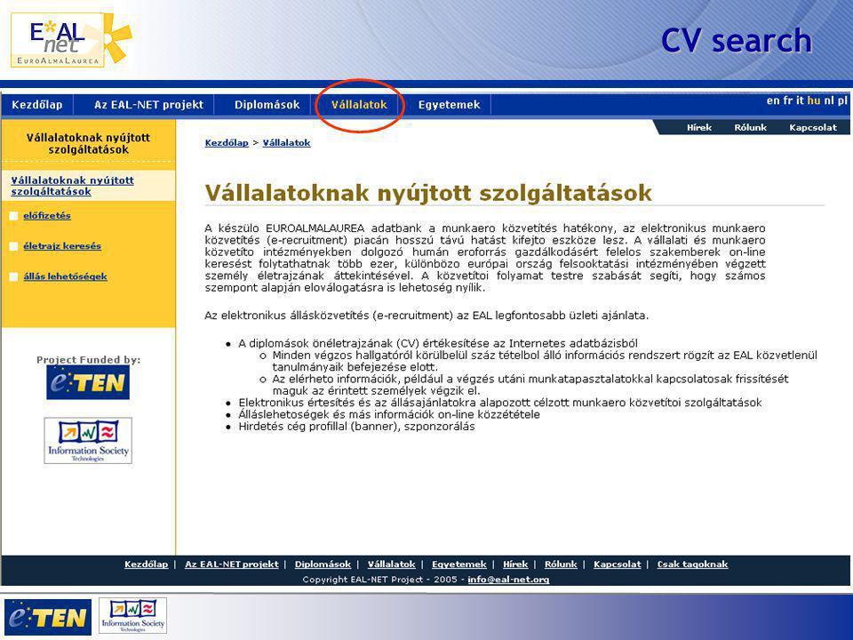 CV search