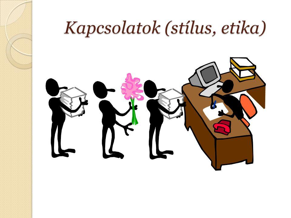 Kapcsolatok (stílus, etika)