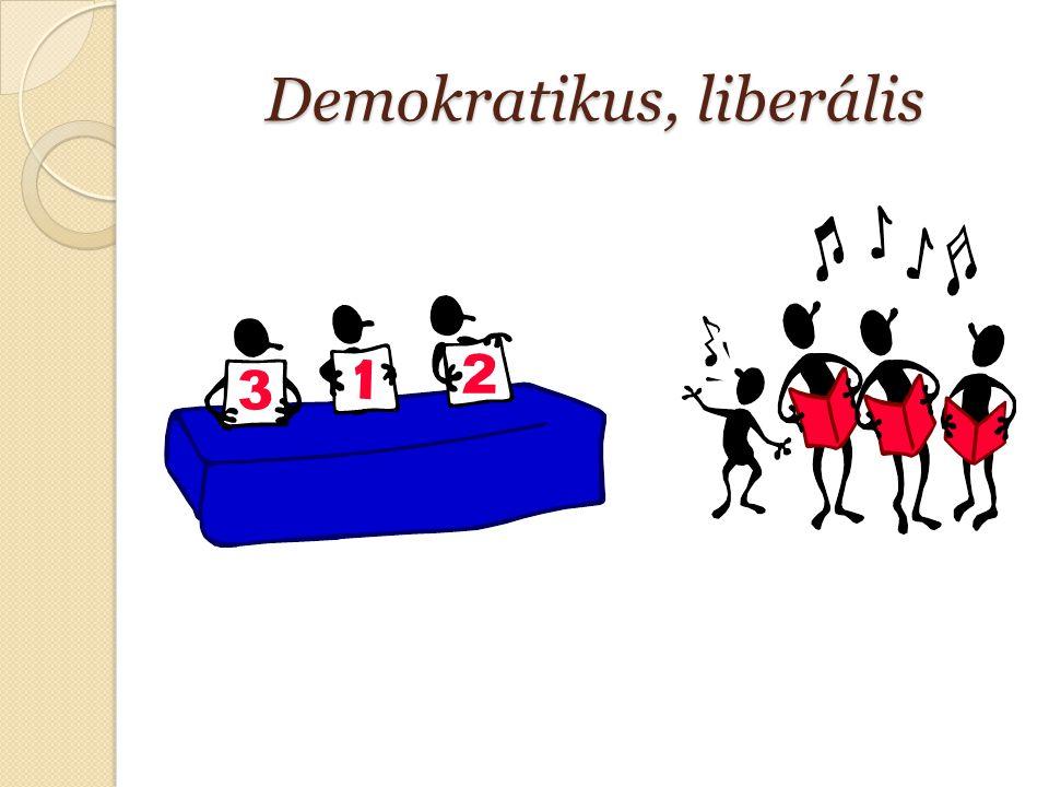 Demokratikus, liberális
