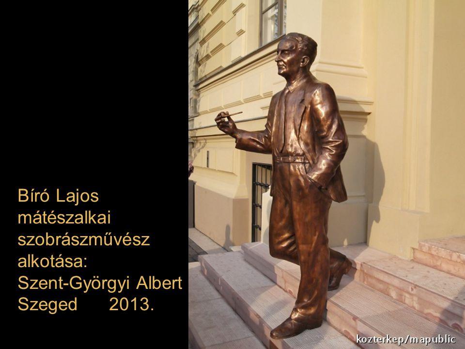 Farkas Ádám Munkácsy-díjas szobrász műve: Bujtor István Balatonfüred 2013