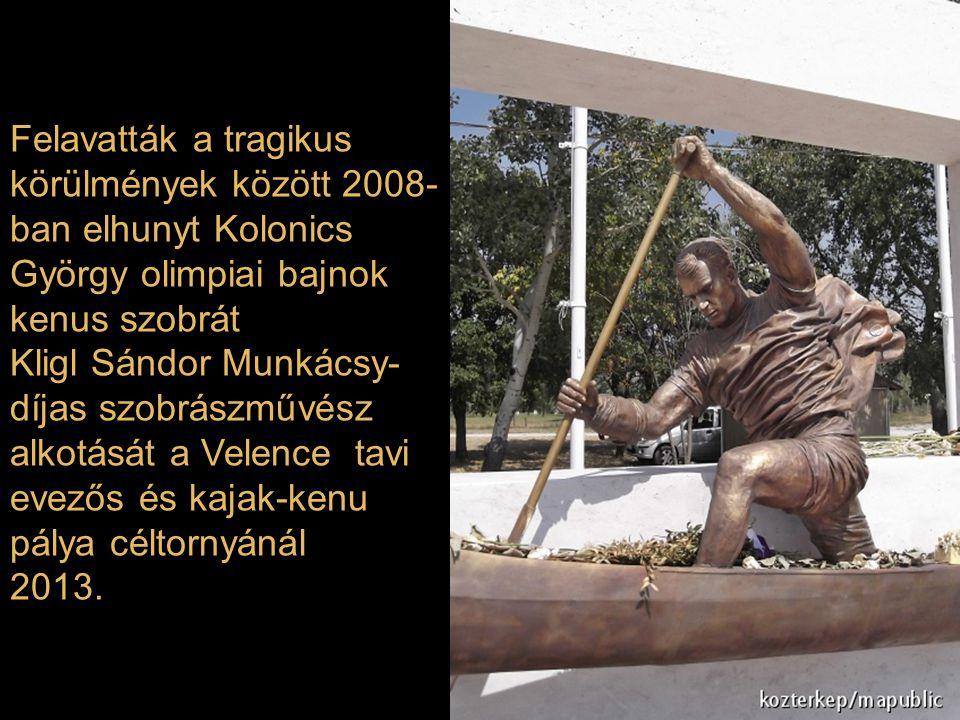 Szobrot állítottak Huszárik Zoltán rendező emlékére szülőfalujában, a Pest megyei Domonyban Monori Sebestyén alkotása 2013