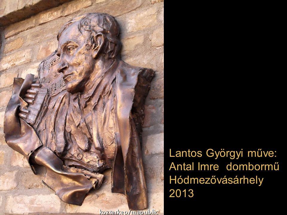 Freund Éva műve: Szentágothai János Budapesten, a Thaly Kálmán utca és a Vendel sétány sarkán lévő, nevét viselő téren. 2013