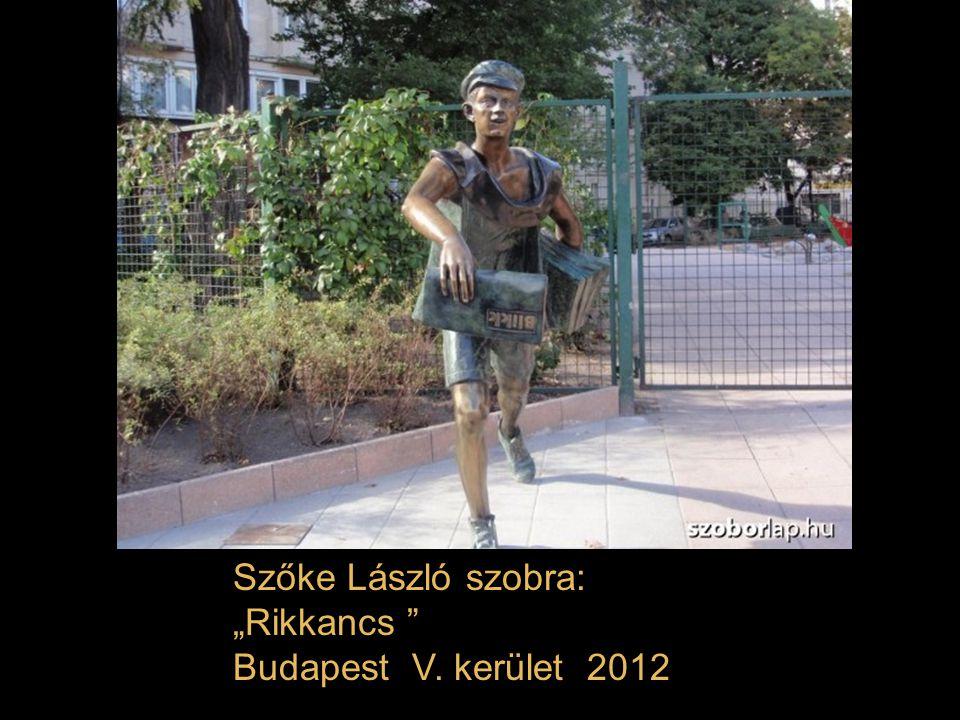 Ronald Reagan szobra Alkotó: Máté István Budapest Szabadság tér 2011.
