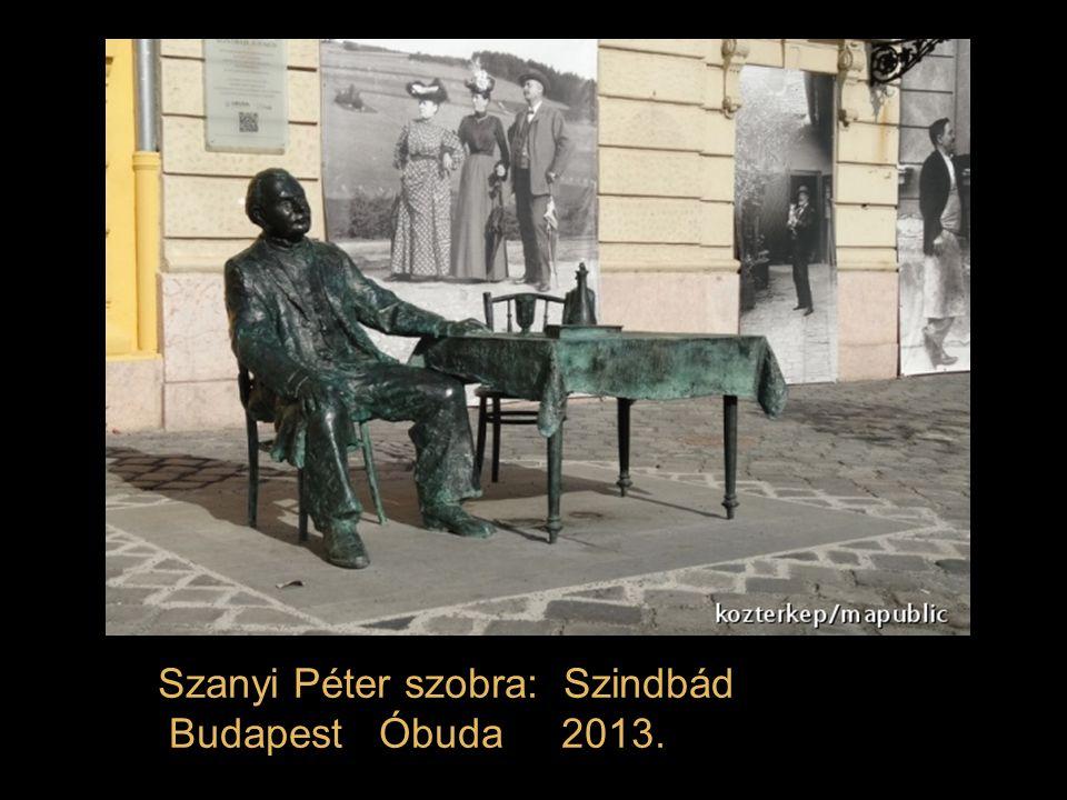 Stremeny Géza szobra: Gróf Bethlen István Budai Vár Szent György tér 2013.