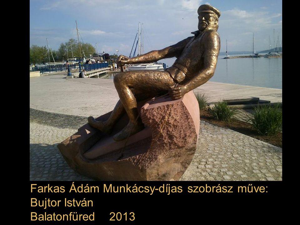 Marosits István Munkácsy Mihály-díjas szobrász művét - a Ruttkai Éva nevét viselő Pozsonyi út és a Victor Hugo utca közötti parkban avatták fel 2013