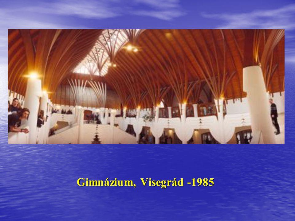 Kultúrház,Jászapáti 1983 Faluház, Bak 1985