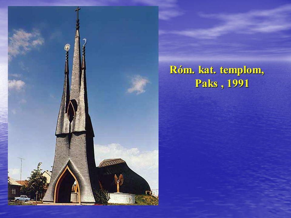 Siófoki evangélikus templom -1990