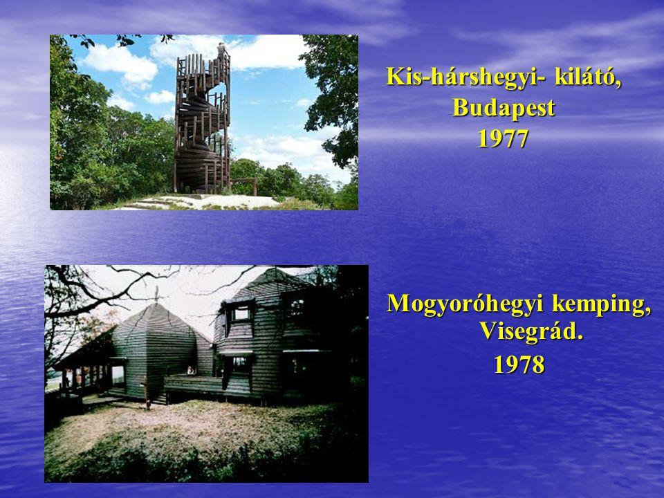 Ravatalozó,Budapest, Farkasréti temető 1977 Ravatalozó,Budapest, Farkasréti temető 1977 Szállásépületek, Visegrád 1977